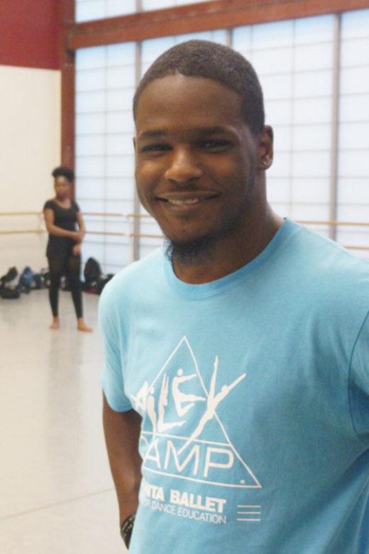 Meet Atlanta Ballet's AileyCamp Leader Kameron Davis